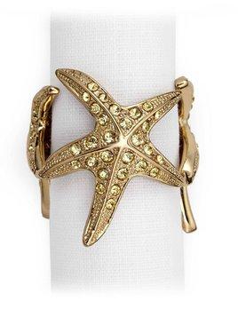 L'Objet L'Objet -Starfish Napkin Rings - Set of 4