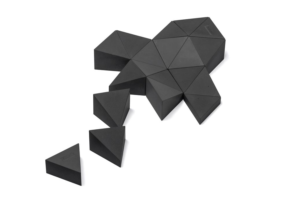 Longifaces The Original Set - 16 Piece Puzzle - Baslt