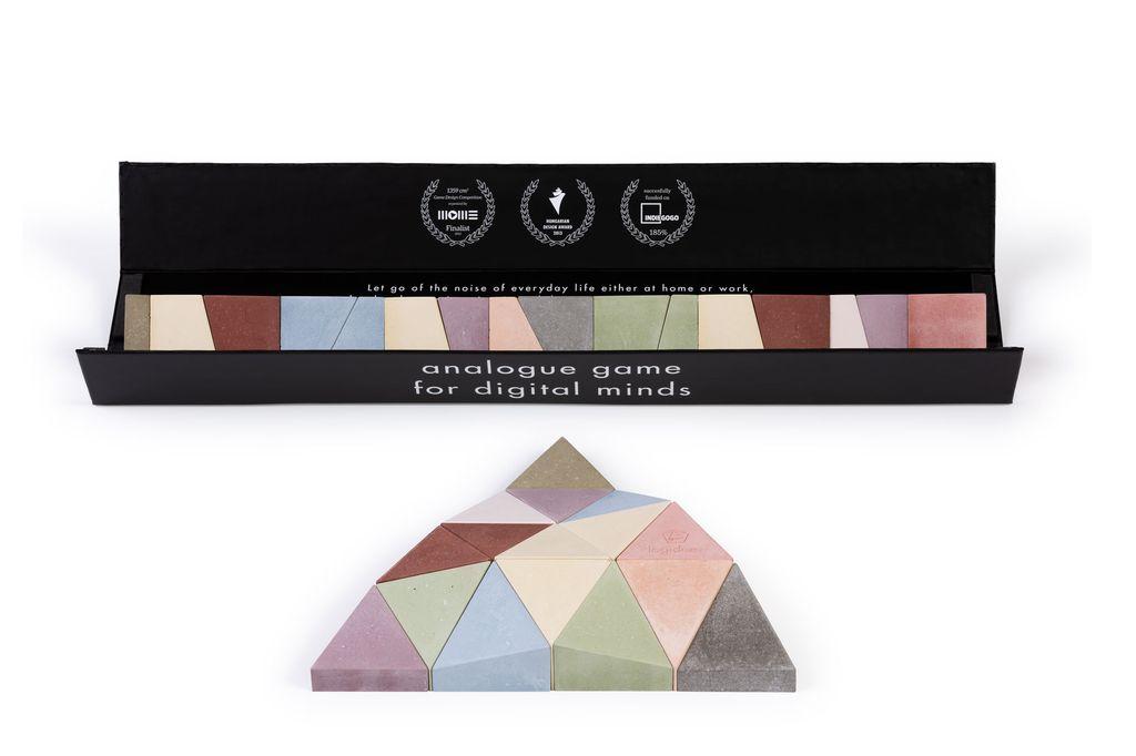 Longifaces The Original Set - 16 Piece Puzzle - Super Colour