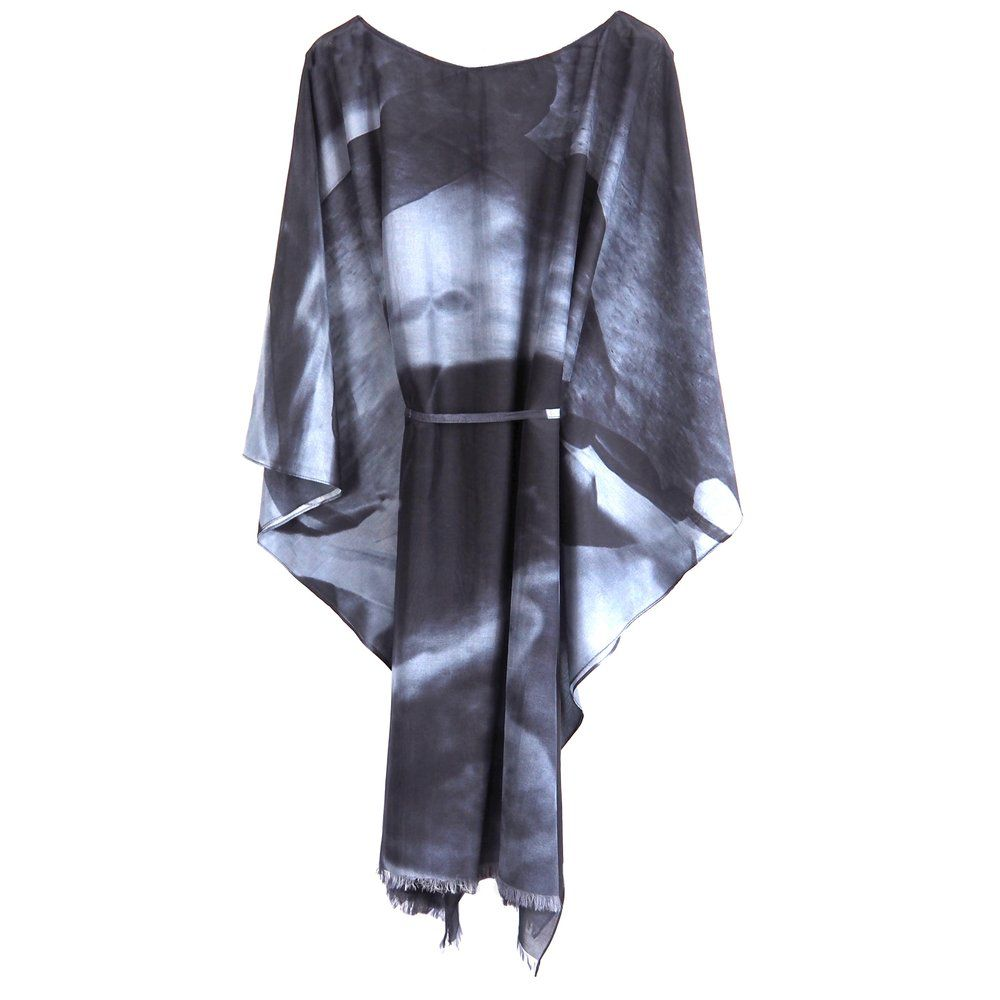 Phillip Ayers - Kaftan - Silk Cotton - Charcoal