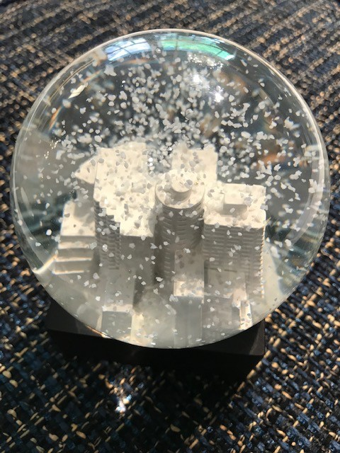 BECKER MINTY BECKER MINTY Hand Made Potts Point Snow Globe