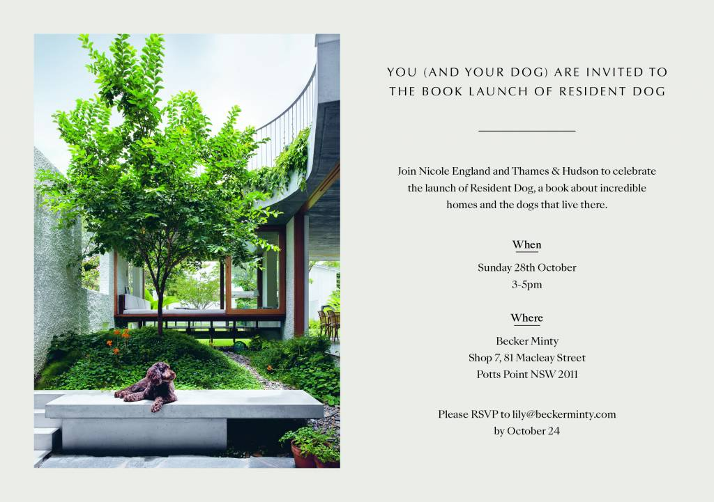 Resident Dog Book Launch