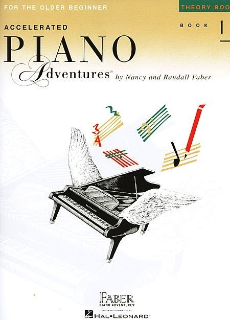 Hal Leonard Hal Leonard Accelerated Piano Adventures for the Older Beginner:Theory Book 1