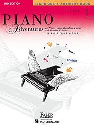 Hal Leonard Hal Leonard Piano Adventures Level 1 - Technique & Artistry Book