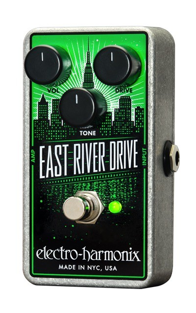 Electro Harmonix Electro-Harmonix East River Drive Classic Overdrive Pedal as Bold as NYC