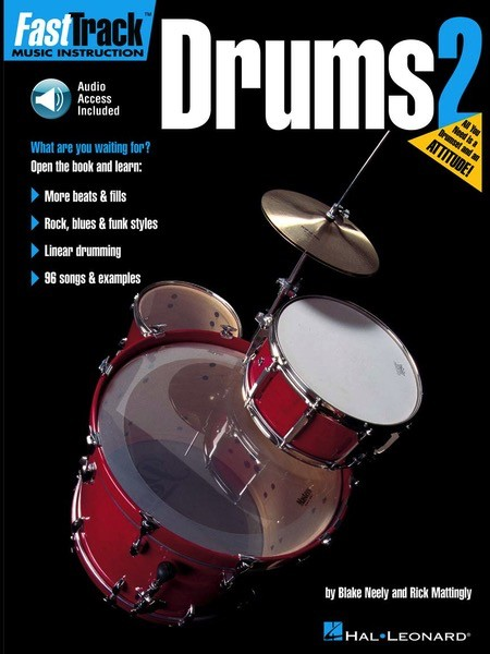 Hal Leonard Hal Leonard FasTrack Drums Method- Book 2