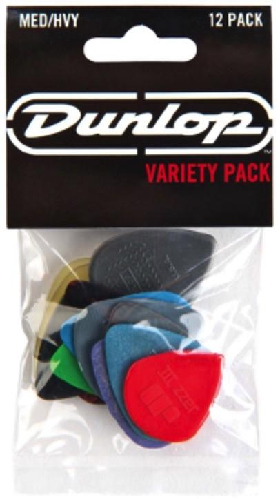 Dunlop Dunlop Variety 12pk Picks MD/HVY