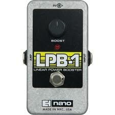 Electro Harmonix Electro Harmonix Linear Power Booster Preamp Effect Pedal