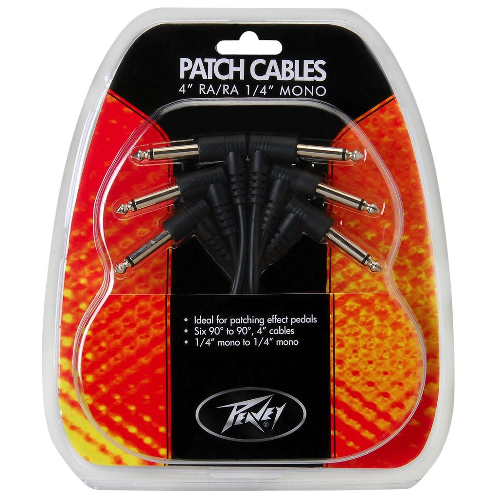 Peavey Peavey - 6 Pack Patch Cable