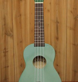 Kala Makala Soprano Ukulele w/ Dolphin Bridge in Green