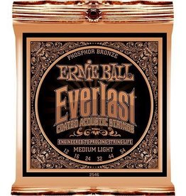 Ernie Ball Ernie Ball Everlast Coated Acoustic Strings Medium-Light 12-54s
