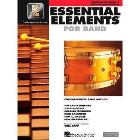 Hal Leonard Hal Leonard Essential Elements – Book 2 (Original Series) <br /> Percussion