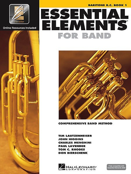Hal Leonard Hal Leonard Essential Elements for Band – Baritone B.C. Book 1 with EEi