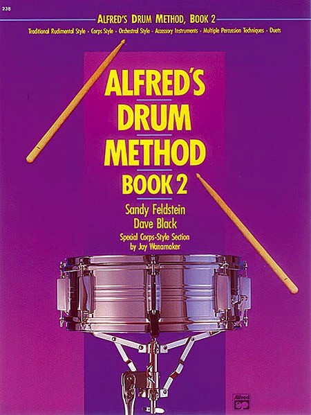 Alfred Publishing Alfred's Drum Method, Book 2