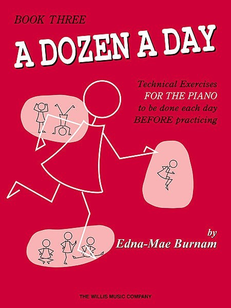 Hal Leonard Hal Leonard A Dozen A Day - Piano Book Three