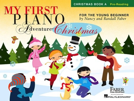 Hal Leonard Faber My First Piano Adventures Prereading Book A Christmas Book