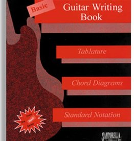 Basic Guitar Writing Book for Tablature, Chord Diagrams and Standard Notation