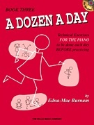 Hal Leonard Hal Leonard Piano- A Dozen a Day Book Three w/CD
