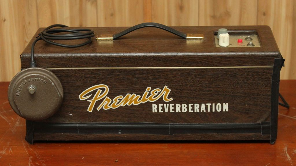 Premier Reverb 90 full tube reverb unit
