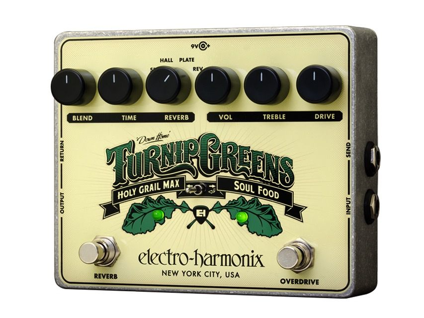 Electro Harmonix Electro-Harmonix Turnip Greens Multi Effects Pedal- Soul Food and Holy Grail in one!!