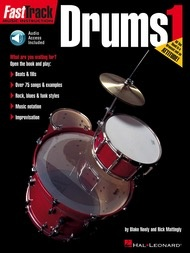Hal Leonard Hal Leonard FastTrack Drum Method- Book 1