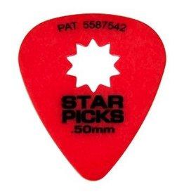 Star Picks .50mm Red 12pk Picks