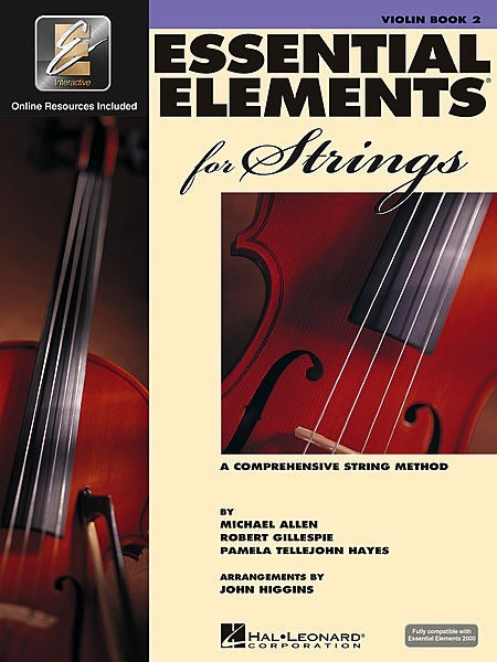 Hal Leonard Hal Leonard Essential Elements 2000 for Strings Violin – Book 2