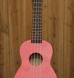 Kala Makala Soprano Ukulele w/ Dolphin Bridge in Red Sparkle