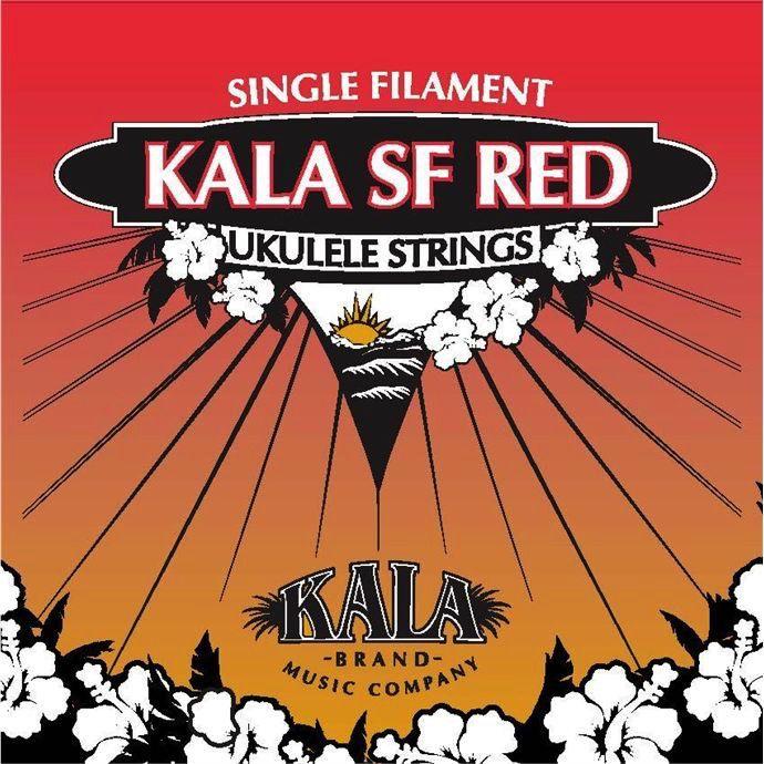 Kala Kala Reds Ukulele Strings- Soprano Low G