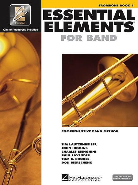 Hal Leonard Hal Leonard Essential Elements for Band – Trombone Book 1 with EEi