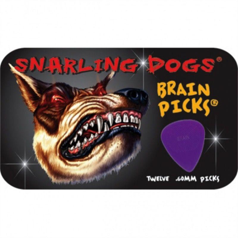 Brain Picks Snarling Dogs 12 Pack .60mm