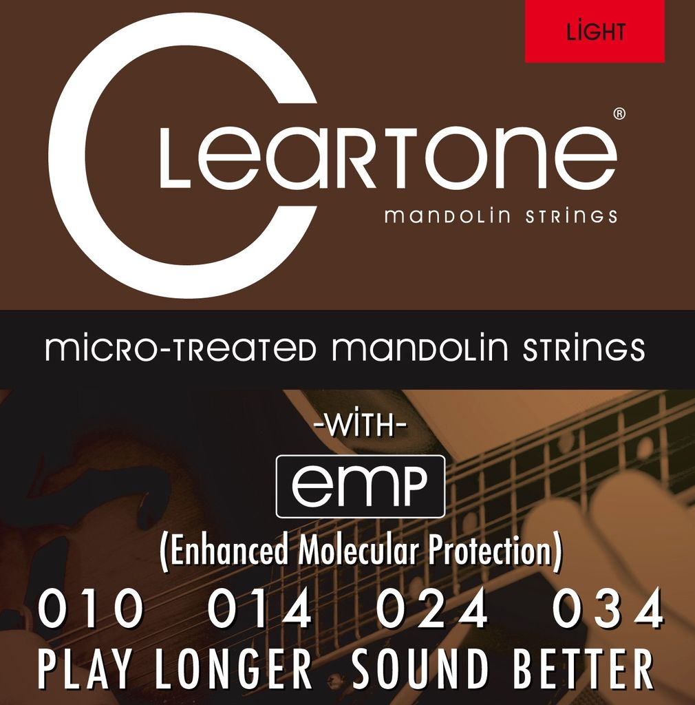 Everly Cleartone Mandolin Light Gauge Strings .010 - .034