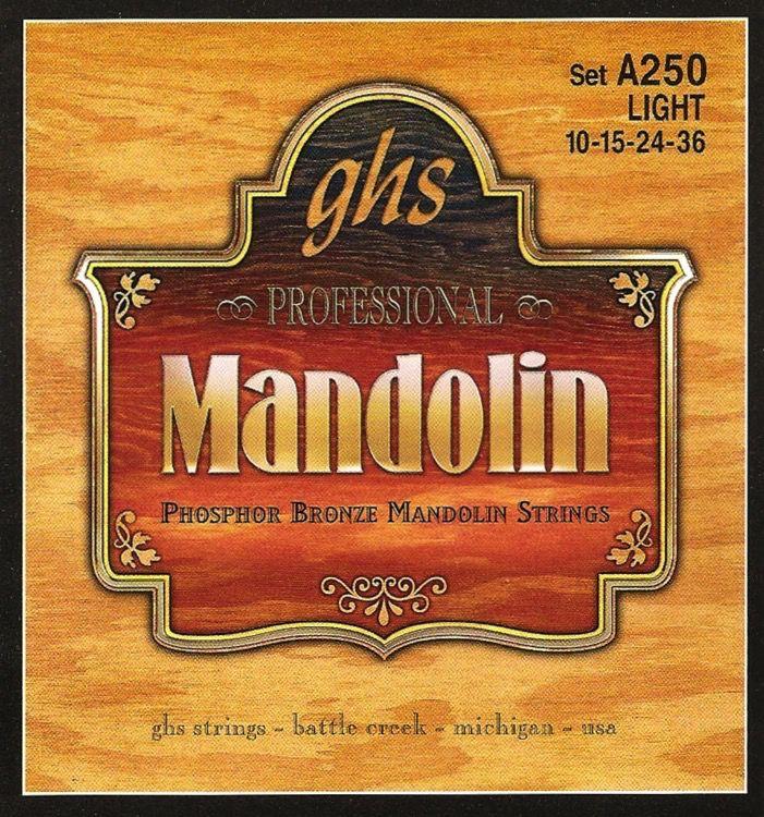 GHS GHS Mandolin Strings Light Gauge .010-.036