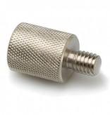 Hosa Microphone Stand Adaptor, US Thread to EU Thread