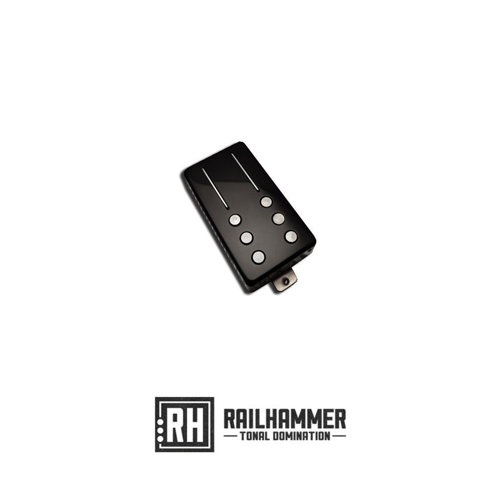Railhammer Reverend Railhammer Chisel - Neck - Black Chrome