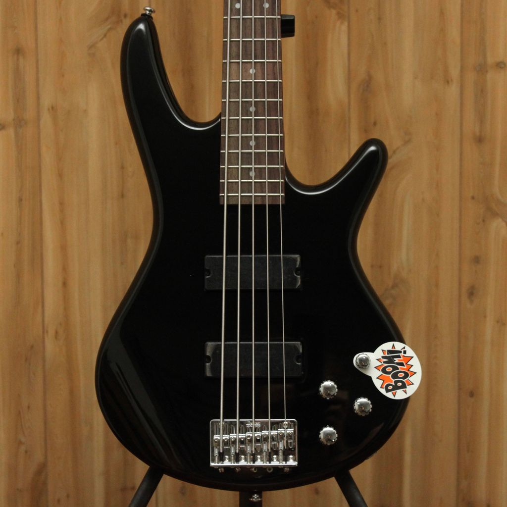 Ibanez Ibanez Soundgear GIO 5-String Bass in Black