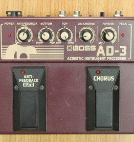 Boss USED Boss AD-3 Acoustic Instrument Processor