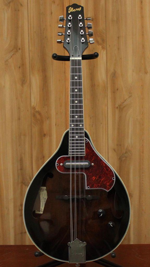 Ibanez A Style Acoustic Electric Mandolin - Dark Violin Sunburst