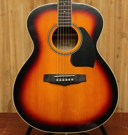 Ibanez Ibanez Performance Grand Concert Acoustic Guitar in Vintage Sunburst High Gloss