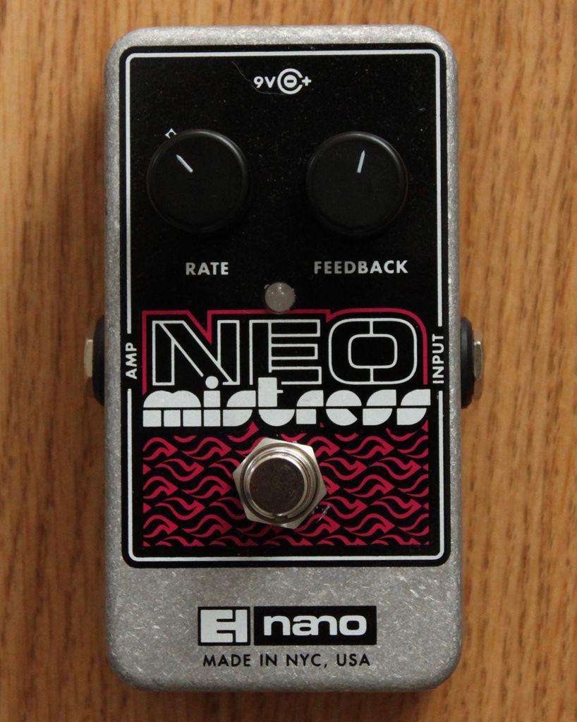 Electro Harmonix Electro Harmonix Neo Mistress Flanger Effect Pedal