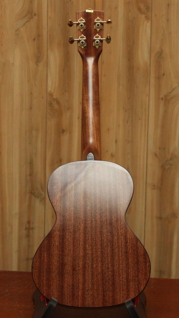 Kala Kala Tenor Ukulele with Scallop Cutaway, Gloss Finish, Solid Mahogany top, back and sides