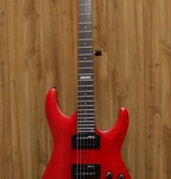 LTD LTD H-101 FM Electric Guitar in See Thru Red
