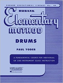 Rubank Elementary Method for Drums