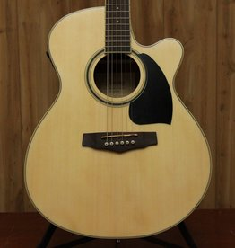 Ibanez Ibanez Performance Dreadnought Acoustic/Electric Guitar in Natural High Gloss