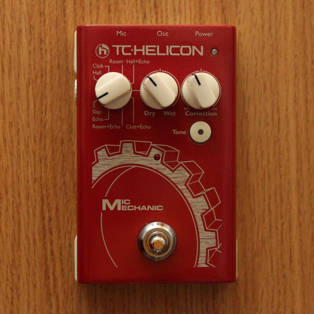 TC Helicon Mic Mechanic Essential Vocal FX Stompbox