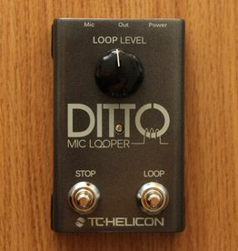 TC Electronic TC-Helicon Ditto Mic Looper