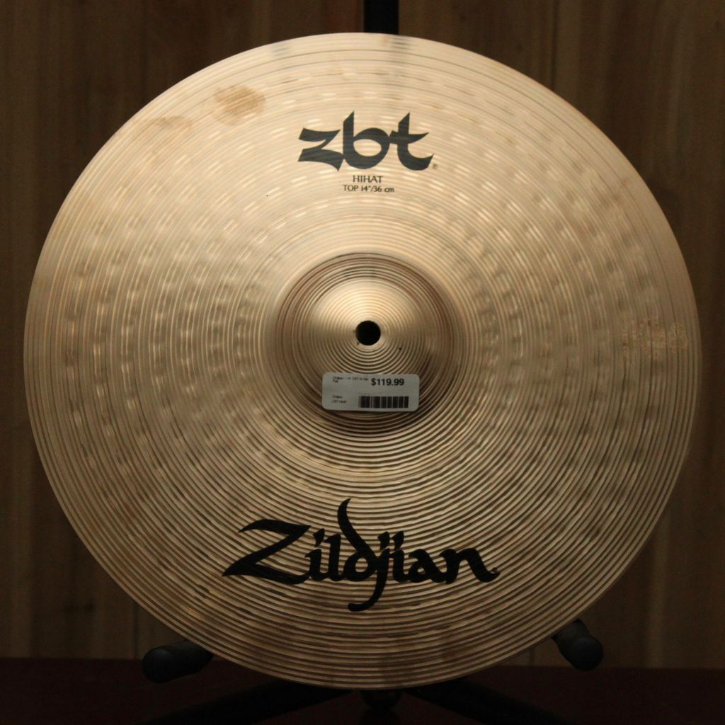 "Zildjian Zildjian 14"" ZBT HI HAT PAIR"