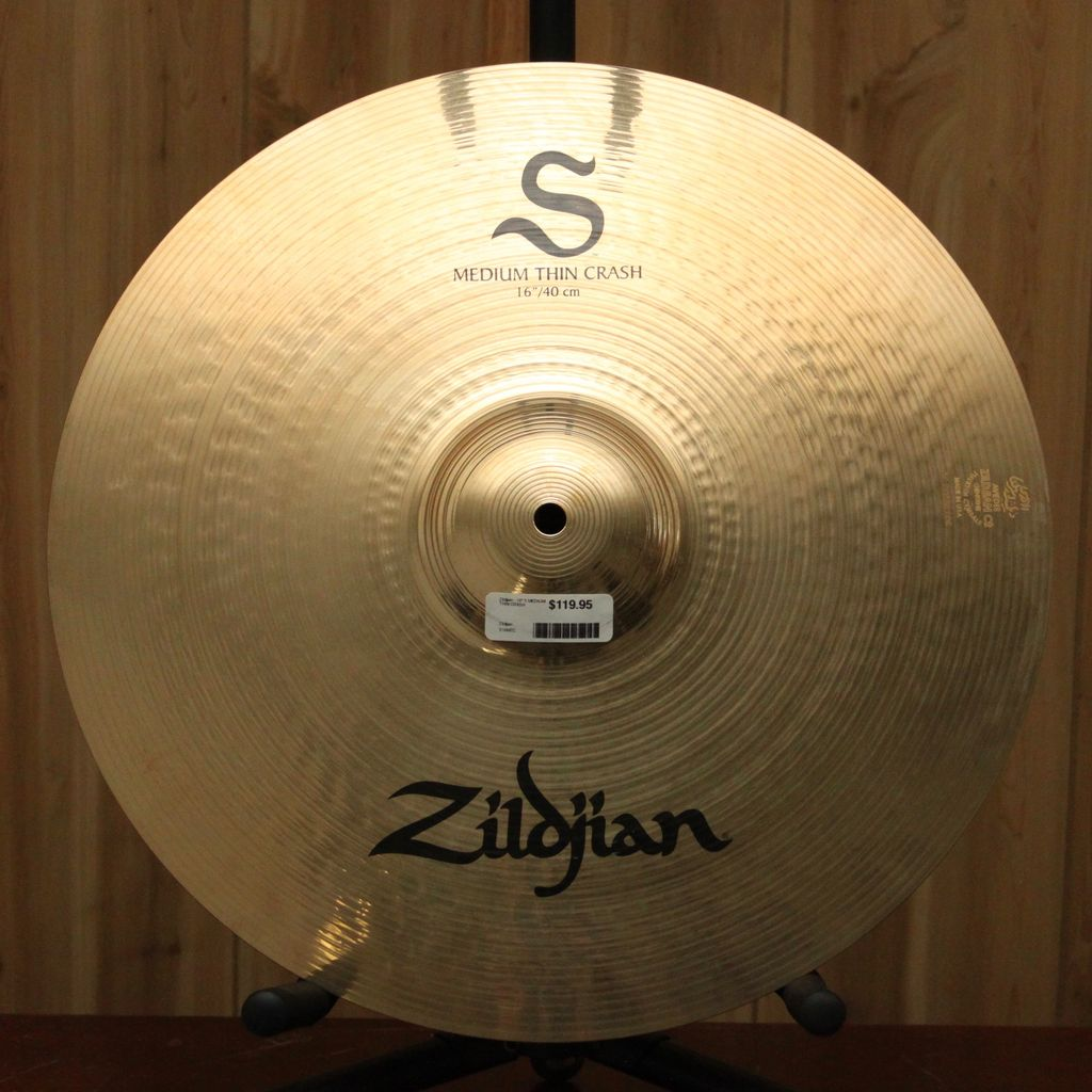 "Zildjian Zildjian - 16"" S MEDIUM THIN CRASH"