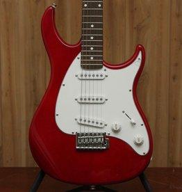 Peavey Peavey Raptor UK SSS Electric Guitar in Transparent Red