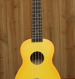 Makala Soprano Ukulele w/ Dolphin Bridge in Yellow Burst